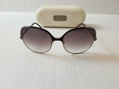 f370e155ea5b CHLOE SUNGLASSES AUTHENTIC Cl 2210 Cl2210 New Color C02 Brown shades ...