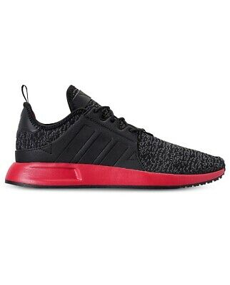204fa175e822 Men Adidas X PLR Lace Up Athletic Lifestyle Sneaker Shoes Black Gray Red  BC0632