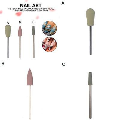 KF_ Nail Art Electric Polishing Grinding Head Drill Bit Manicure DIY Tool Flow