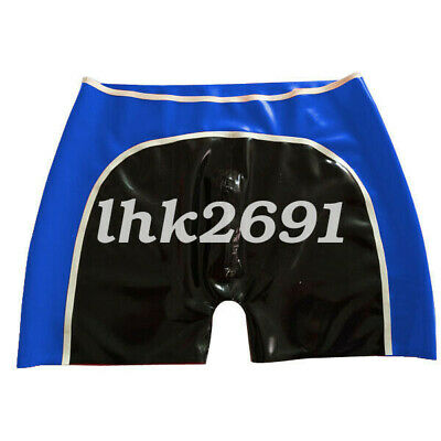 Hot sale 100% Latex Rubber Gummi Men Shorts Boxer-Hüftshorts 0.4mm size S-XXL