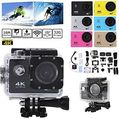 Ultra 4K HD 1080P Action Camera Sport DV WIFI Waterproof DVR Camcorder Gopro
