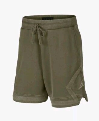 fde3020eaad4fb Nike Air Jordan Sportswear Washed Diamond Fleece Shorts Size Large 939960  395 L