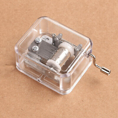 Hand Crank Movement DIY Music Box Toy Gift Harry Potter A Game of Thrones Lots
