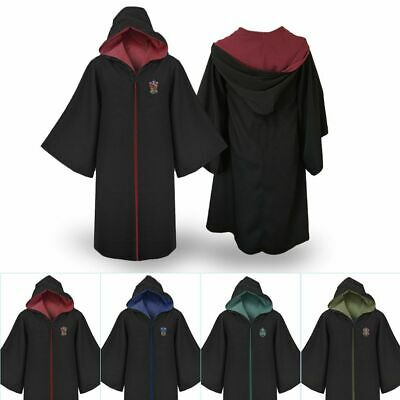 Figli adulti di Harry Potter Gryffindor Slytherin Robe mantello Costume Cosplay