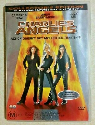 Charlies Angels (DVD, 2000) Cameron Diaz ACTION-COMEDY/ AUS R4