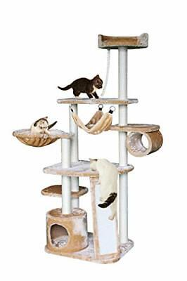 MultiLevel Cat Tree with SisalCovered Hammock Condo and Activity Center