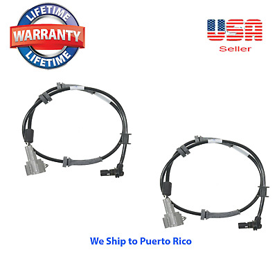 Set ABS Wheel Speed Sensor Front Fit:2005-2007 Nissan Titan Armada Infiniti QX56