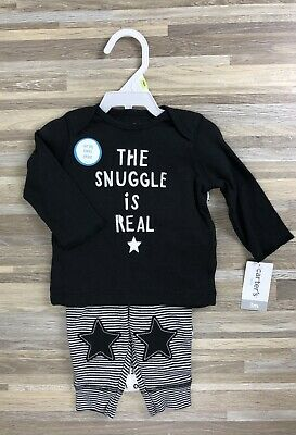 099e86013 NWT Carters Baby Boy Clothes 3 Months 3 Piece Bodysuits Pants Outfit Set