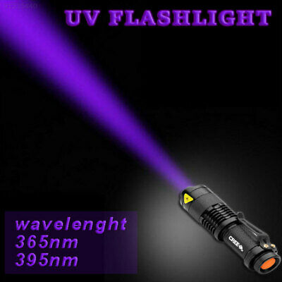 A24F Ultraviolet Light Powerful Lamp Torch 400nm Mode Tactical Adjustable Focus