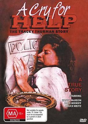 A Cry For Help - Tracey Thurman - True Story- Dvd - Free Local Post