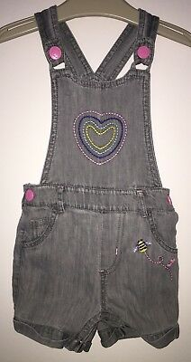 Girls Age 12-18 Months - Mothercare Shorts Dungarees