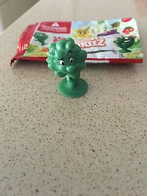 Coles Little Shop Mini Collectibles Stikeez Brodie Broccoli-