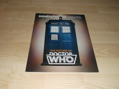 DOCTOR WHO - RARE 2005 Pre-Launch Magazine - The Herald