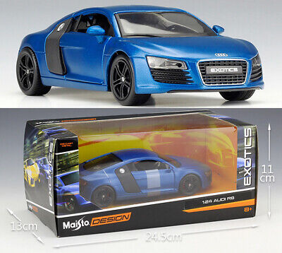 MAISTO 1:24 Audi R8 Alloy Diecast Vehicle Car MODEL TOY Gift Collection NIB