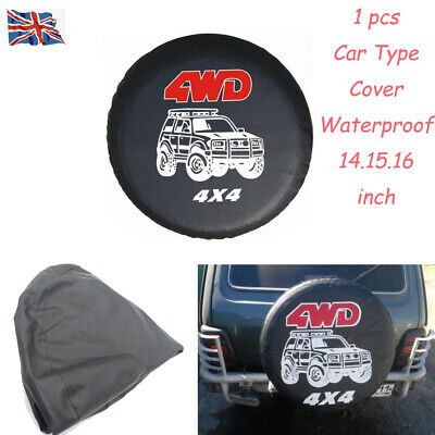 4X4 4Wd Spare Wheel Tire Rear Cover Car Waterproof Tyre Cover For Kia Vw Honda