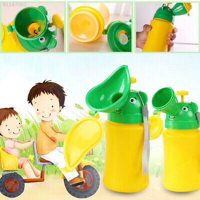 4A0E Urinal Toilet Potty Training Baby Kid Toddler Unisex Boy Girl Car Emergency