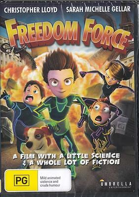 Freedom Force - Christopher Lloyd -  New & Sealed R4 Dvd Free Local Post