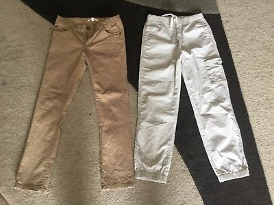 2 pairs boys pants from Charlie and Me