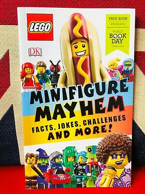 World Book Day 2019: LEGO Minifigure Mayhem. *NEW PB* Facts, Jokes & Much More