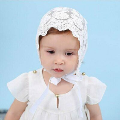 Charming Breathable Baby Girls Sun Hat Summer Cute Lace Bowknot Hat Cap JS