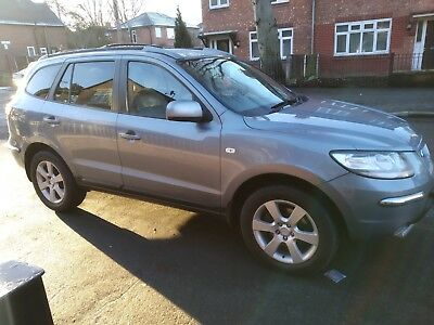 Hyundai Santa Fe CDX + CRTD A Estate Automatic 7 Seater 4WD Diesel Jeep Car