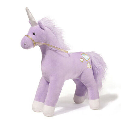 GUND Unicorn - Bluebell [32cm] - Purple Soft Plush Toy NEW