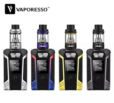 VAPORESSO Switcher Kit with Switcher Box MOD & NRG Tank Atomizer 2ml/5ml Vape