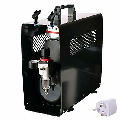 Professional 2 Piston Airbrush Air Compressor with 3.5 litre Tank & Air Filter