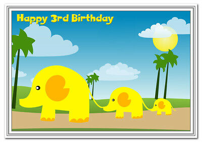 3rd Birthday Cards for Girls - 3 year old little Girl - Age Three - Best Quality