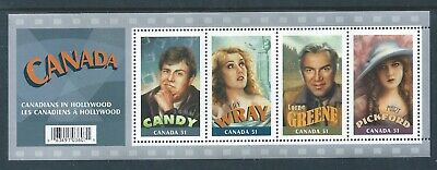 Canada #2153 2006 Canadians In Hollywood Souvenir Sheet MNH * Free Shipping *