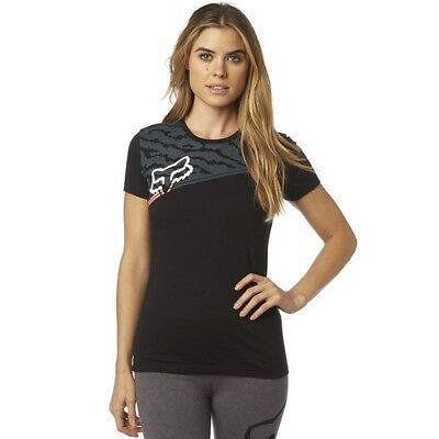 Maglia Donna T-Shirts Fox ACTIVATED CREW SS TEE Black TG S