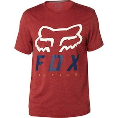 Maglia Fox HERITAGE FORGER SS TECH TEE HTR BUR Tg. L