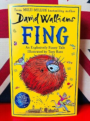 Fing by David Walliams (Hardcover 2019) - No.1 Bestseller Children Books *NEW*