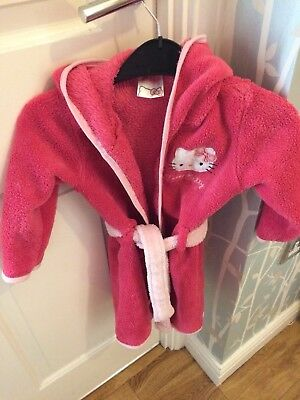 Baby Girl Dressing Gown, 18-24 Months