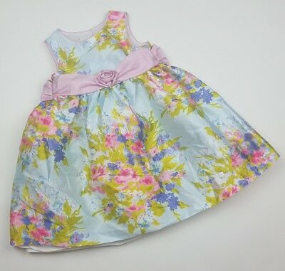 8373419d8dd Marmellata Baby Girl Size 24 Month Floral Dress W  Sash Party Summer Baptism
