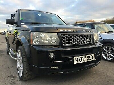 07 Range Rover Sport 4.2 V8 Supercharged Hst Rear Screens, 11 Main Stamps, Nice!