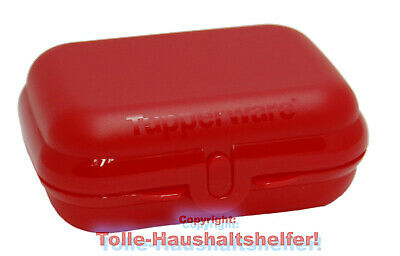 Tupperware® Twin-Box groß in ROT ! Brotdose Lunch-Box A26 NEU+OVP