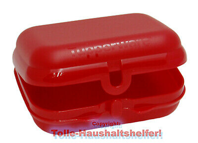 Tupperware® Twin-Box - Die große Brotdose in ROT ! Lunch-Box A26 NEU+OVP