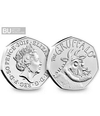 The Gruffalo Brilliant Uncirculated 50p Fifty Pence Coin BRAND NEW RELEASE! LOOK