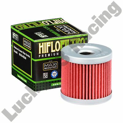 HF971 Oil filter to fit Suzuki AN UC UE UH UX Hyosung Boomer GPS Hiflo Filtro
