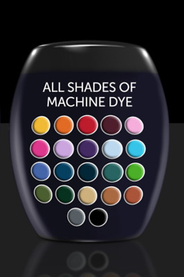Dylon Fabric Dye For The Machine Safe & Easy to Use Dye Pods All Colours 350g