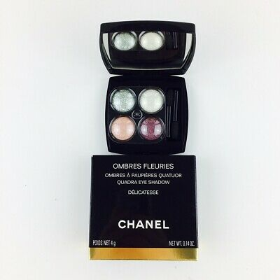 Chanel Ombres Fleuries Quadra Eye Shadow Lidschatten Delicatesse 4g Nuevo