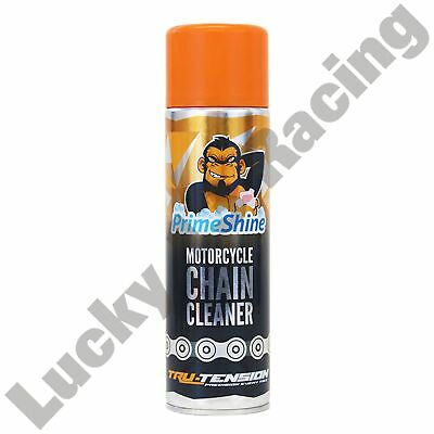 Motorcycle Chain Cleaner Tru-Tension Primeshine 500ml  - UK Mainland only