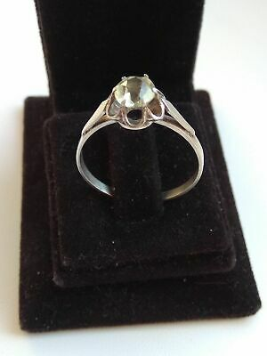 Silber Silver Ring Of The Russia Ussr 875 Star Silver 2.60g.17.5mm Russia