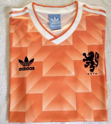 Holland Netherlands 1988 Retro Football Soccer Shirt Home Vintage Classic M L XL