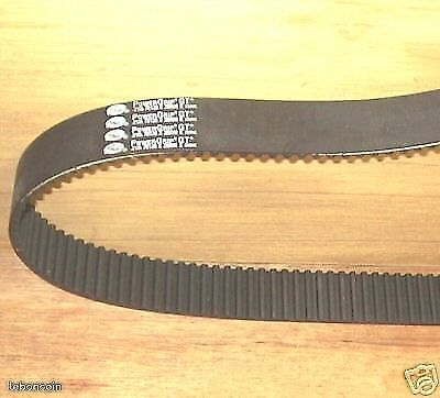 "Harley courroie primaire 1 1/2"" 138 dents ""gates"" primary belt"