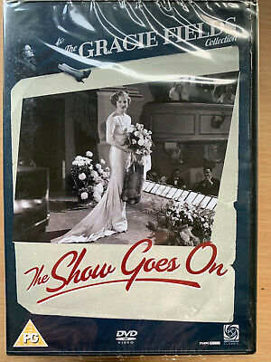 The Show Goes On 1937 Gracie Fields Semi-Autobiographical Musical Classic UK DVD