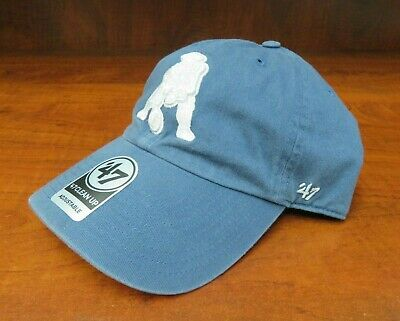 new style 38c0b 64ac0  47 Brand Nfl New England Patriots Whiteout Logo Adjustable Clean Up Hat  Nwt.