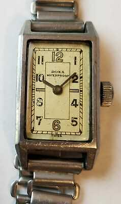 VINTAGE Doxa Waterproof MECHANICAL Lady  Swiss Made Watch