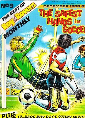 THE BEST OF ROY OF THE ROVERS MONTHLY No 9 December 1988 Safest Hands In Soccer